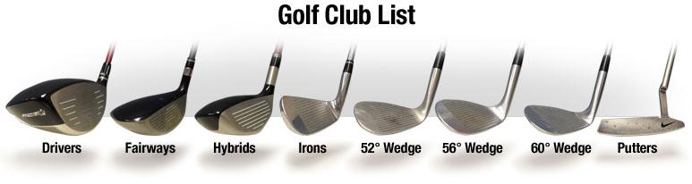 golf-club-list